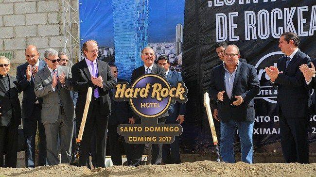 Cadena Hard Rock inicia trabajos construcción Hotel & Casino en Santo Domingo