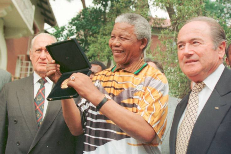 1999: Mandela was president of South Africa from 1994 until 1999. After stepping down, he played a key role in helping the country win the 2010 World Cup bid.