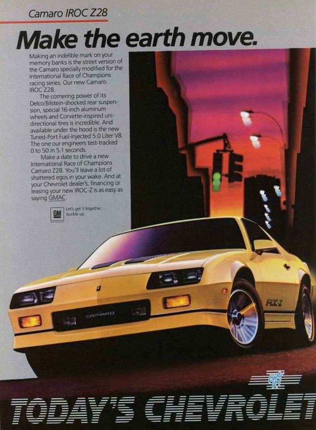 The 45 coolest Chevy Camaro ads ever made  - RoadandTrack.com