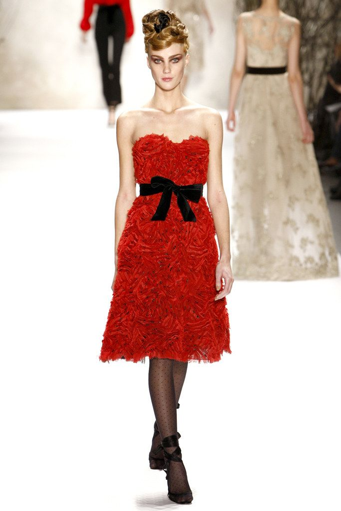 jordans cheap price Monique Lhuillier Fall 2011 Ready to Wear Collection Photos   Vogue