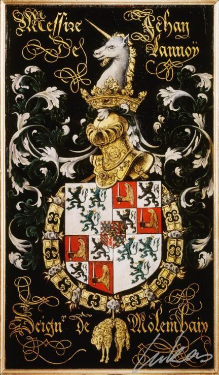 "(212) Jean de LANNOY, sgr de Molembaix (ca1509-1560) -- ""Messire Jehan de…"