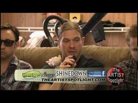 Shinedown Rockfest Kansas City 2012 Live Music Interview on The Artist Spotlight!