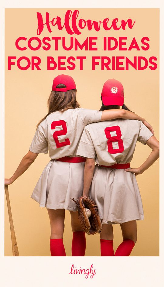 Creative Halloween Costume Ideas for You and Your Best Friends