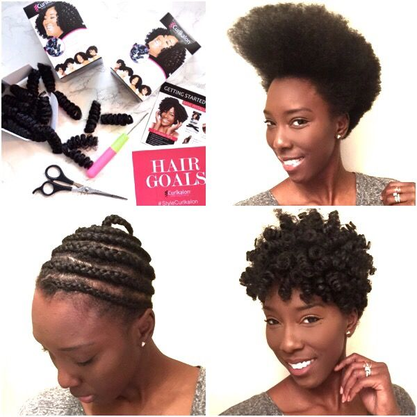I have decided to give my hair a break over the next few weeks, and I am  doing so with my favorite protective style: crochet braids!! I have been a  big fan of crochet braids for a while now. I wore them a lot last year and  I use to do the whole hot water dipping thing, but after a few burns and  hours of wasted time; I decided I needed to try something different! I am  so glad I found Curlkalon hair. It is the only brand that has pre-curled  textured hair made specifically for crochet…