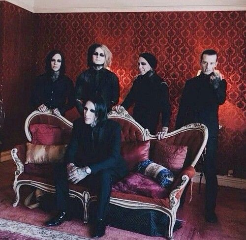 Motionless In White | Ricky Horror | Ghost | Josh Balz | Ryan Sitkowski | Chris Motionless