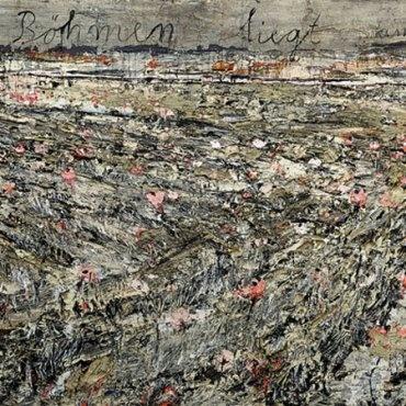 Anselm Kiefer, Böhmen liegt am Meer. 1995 190 x 559 cm Öl, Acryl, Emulsion, Schellack auf Rupfen Sammlung Frieder Burda © Anselm Kiefer, 2011Museum of Art.