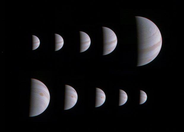 NASA'nın,, güneş sistemi'nin en büyük gezegeni Jüpiter'in sırlarını çözmek için fırlattığı uzay aracı Juno'nun çektiği yeni fotoğraflar dünyaya ulaştı. http://www.ntv.com.tr/galeri/teknoloji/juno-jupiterden-yeni-goruntuler-gonderdi,fnF2yjrdMke8pzd-63VPZA