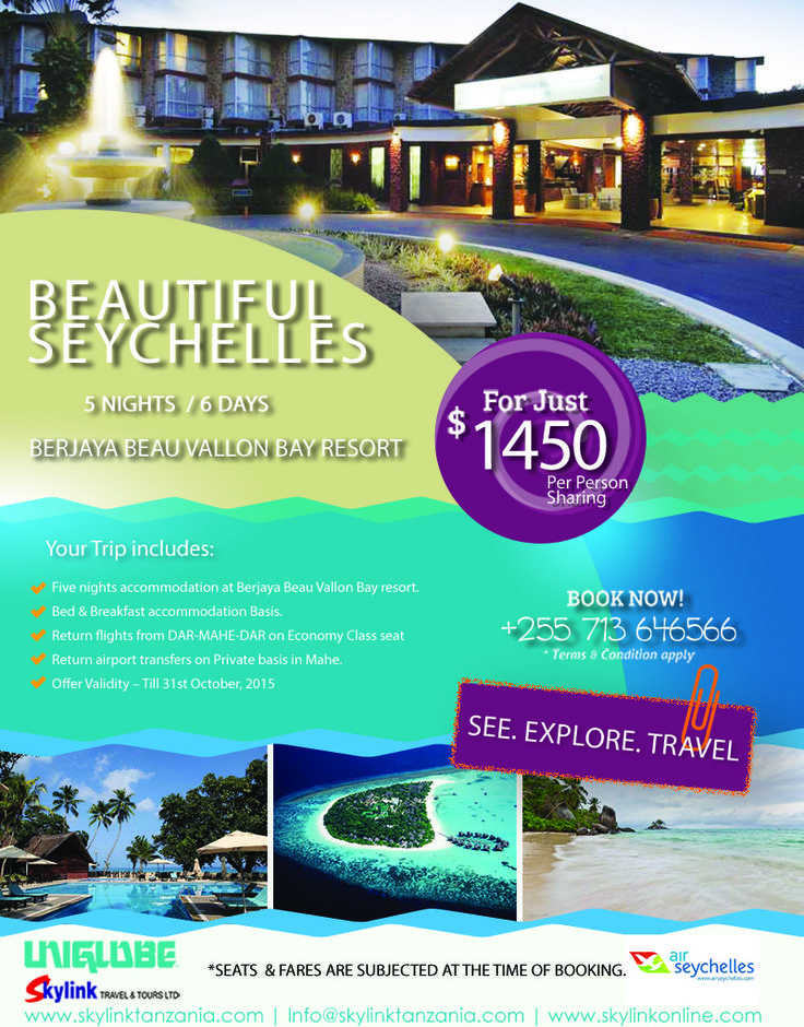 #Seychelles Package
