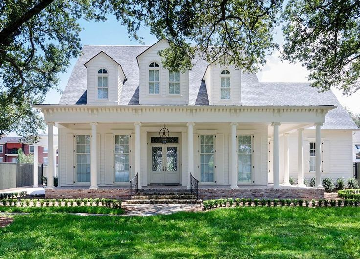 Best 25 white exterior houses ideas on pinterest porch - Country style exterior house colors ...