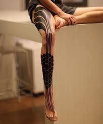 Image result for science fiction tattoo hips and ribs