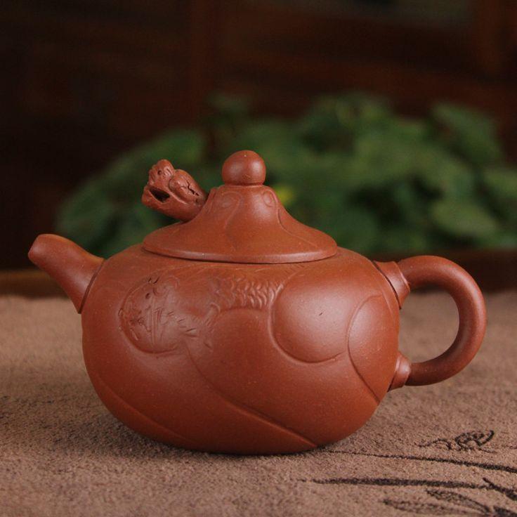 Dragon fish wholesale teapot teapot 180 ml whole mixed batch of Purple mud ore
