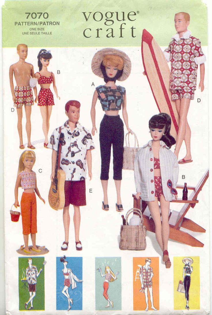 Barbie & Familie naaipatronen: