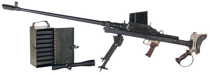 """World War II """"U.S. Property"""" Marked Canadian/Inglis Manufactured MKI """"Boys"""" Antitank Rifle, BATFE Registered Destructive Device, with Scope and Extra Magazines"""