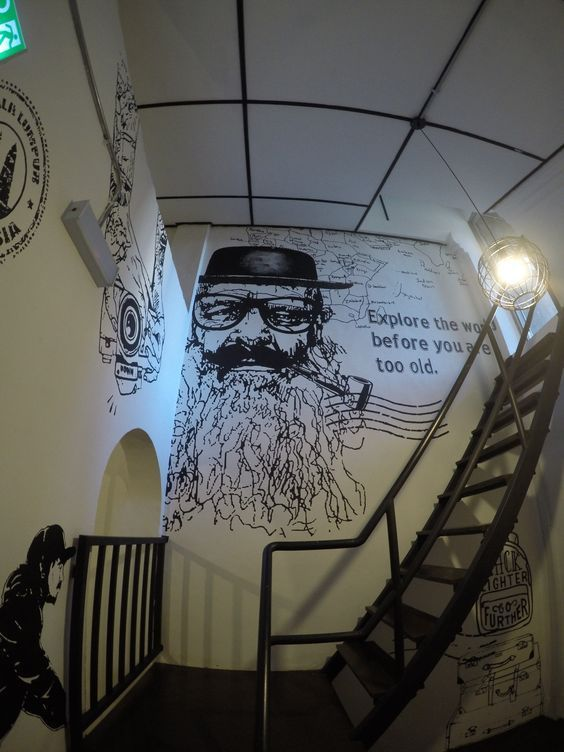Paper Plane Hostel in Kuala Lumpur – Coolness Overload
