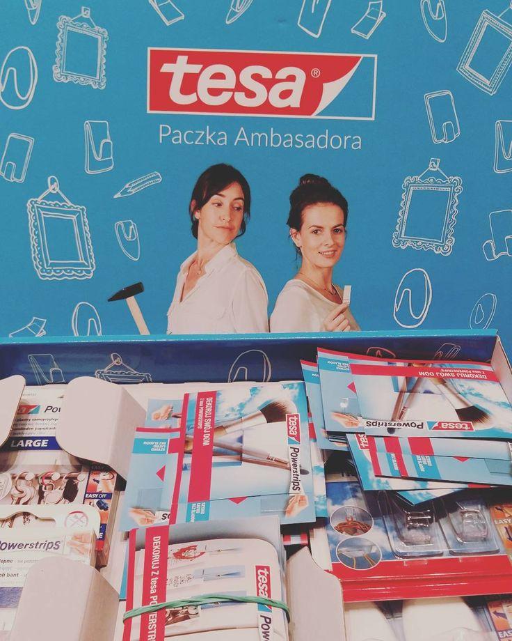 #tesa #powerstrips #streetcom #testujemy #paczkaambasadora @streetcom_polska https://www.instagram.com/p/BKbehcKg4NS/