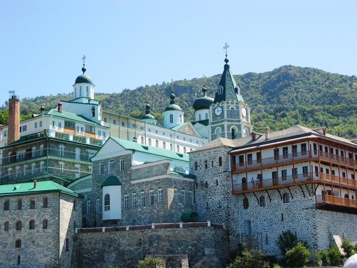 #monastery #mount #Athos #AktiOuranoupoli