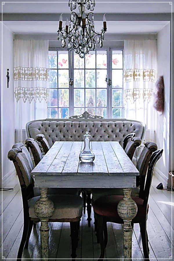 Save A Fortune With These Diy Home Decor Tips Shabby Chic Dining Room Farmhouse Dining Room Dining Room Contemporary