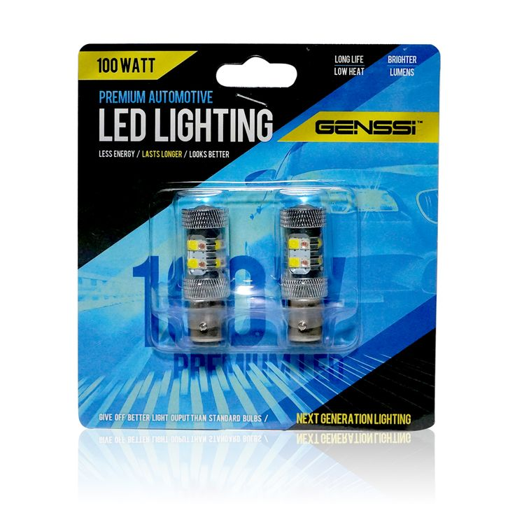 1157 LED switch back amber and white LED car bulbs. 100W power max.