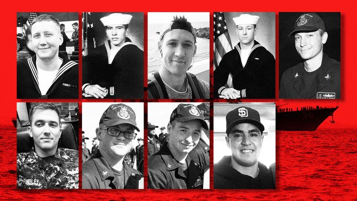 While the cause of the USS John S. McCain's collision with an oil tanker is under investigation, the crew's dedication was not a problem. Comrades remember their missing brothers.