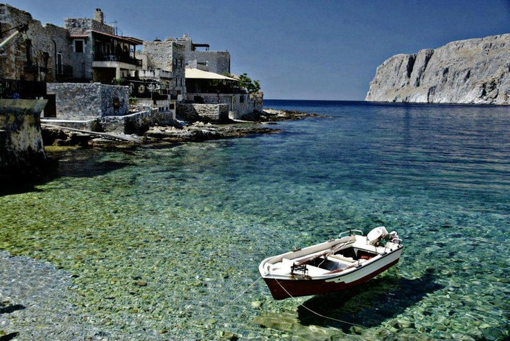 Gerolimenas bay, Mani, Greece