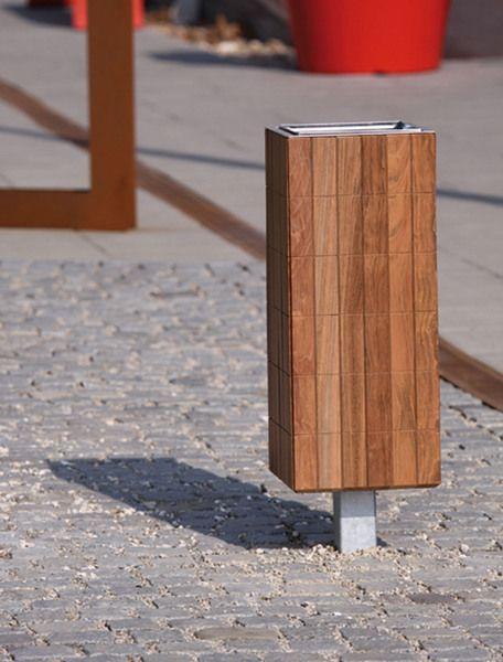 modern street & site furnishings - products - litter bins - Nanuk - NNK166
