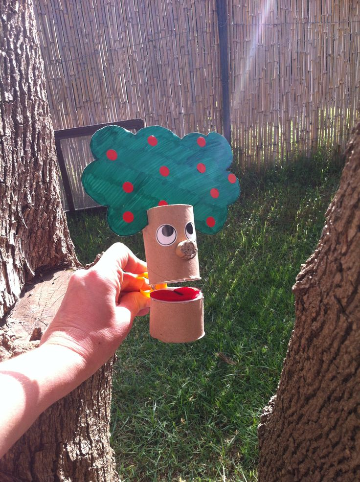 Tree puppet- Tu Bishvat -טו בשבט