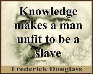 Fredrick Douglas.  Abolitionist and American.