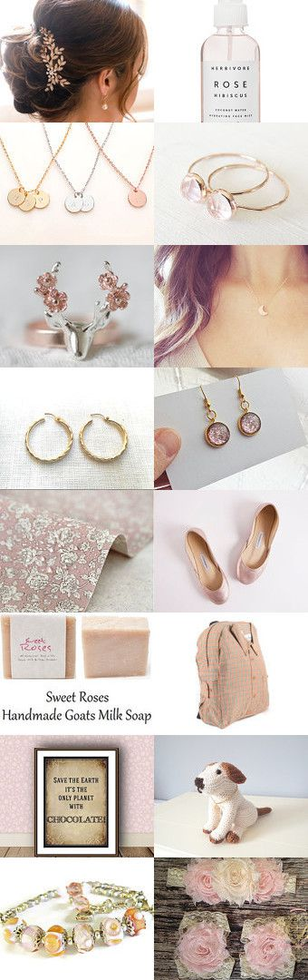 ~ A Rose by any Other Name ~ by Indie Findings on Etsy--Pinned+with+TreasuryPin.com
