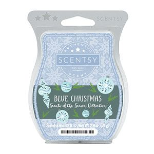 Exclusive fragrance - Scents of the Season, Blue Christmas www.lynnebiniker.scentsy.us #bluechristmas #scentsy #fragrance