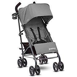 JOOVY New Groove Ultralight Umbrella Stroller, Charcoal Grey