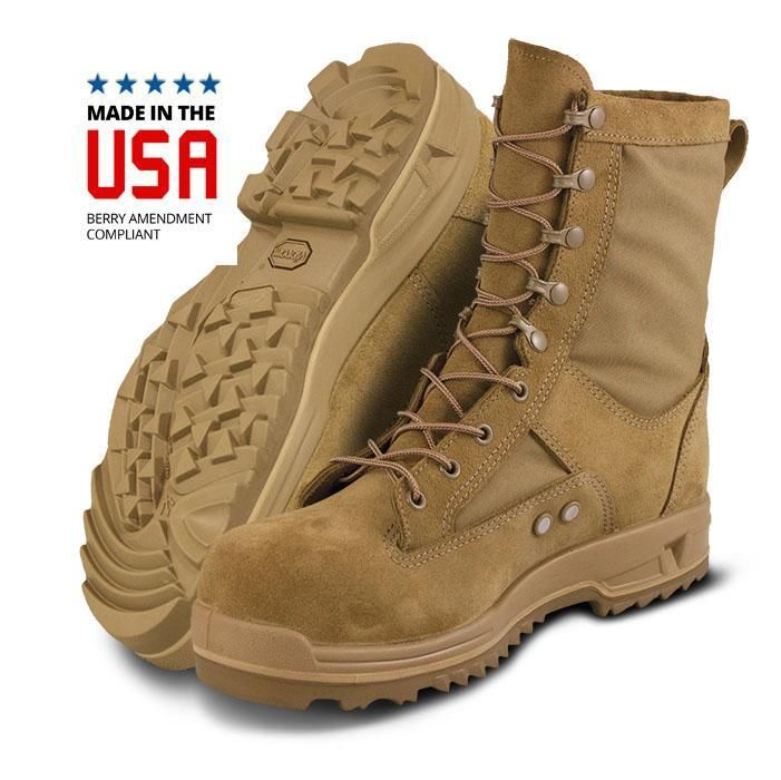 Altama Us Air Force Hot Weather Safety Toe Boots Coyote Brown Usa Made Safety Toe Boots Tactical Boots Air Force Boots