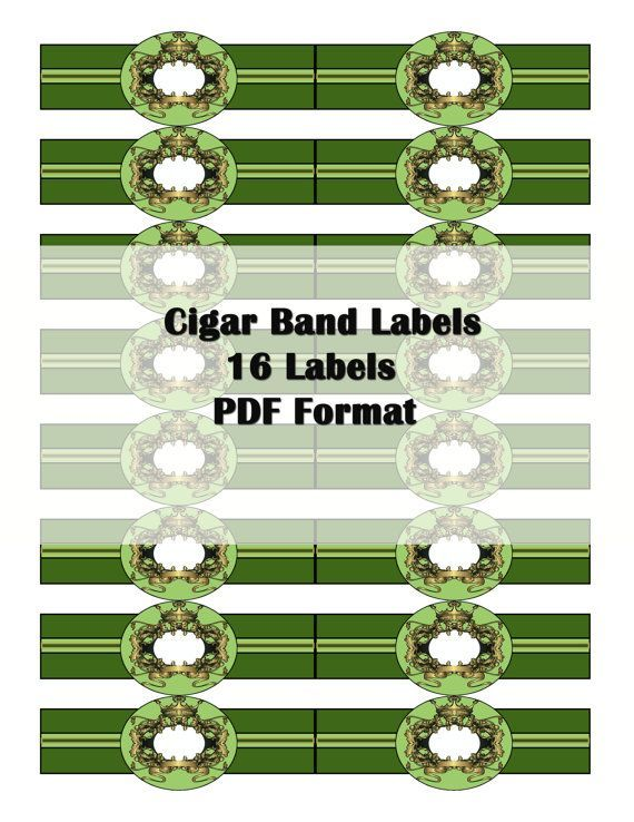 photo relating to Free Printable Cigar Bands referred to as Cigar+Band+Cleaning soap+Labels+Printable+No cost labels band Cleaning soap
