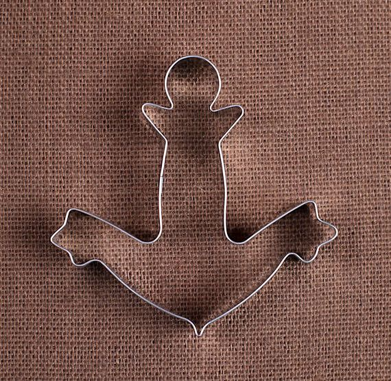 Jumbo Anchor Cookie Cutter