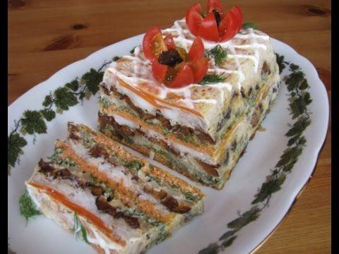 Рыбный торт https://www.youtube.com/watch?v=0AoZQjGXknM