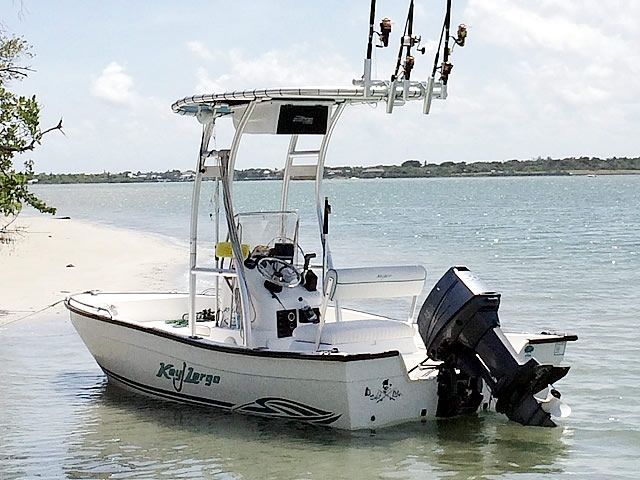 T-Top for 2004 Key Largo 160CC center console boats