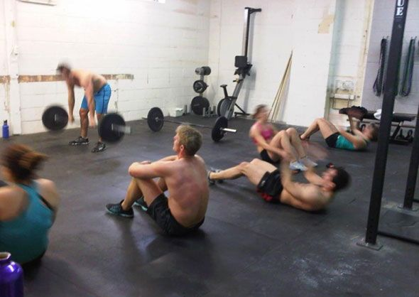 Said to be among one of the best in the city, Auxiliary Crossfit