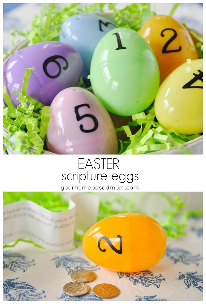 I think I can modify it by putting pictures in the eggs from those scriptures (more Amelia friendly) and then we can tell her about the pictures. I think I'll do mostly spiritual eggs but a couple with stickers or candy in them and we'll still let her hunt for them.