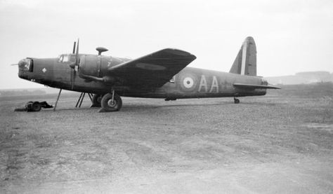 Paul Nash, 'Black and white negative, Vickers Wellington [Bicester?]' 1940