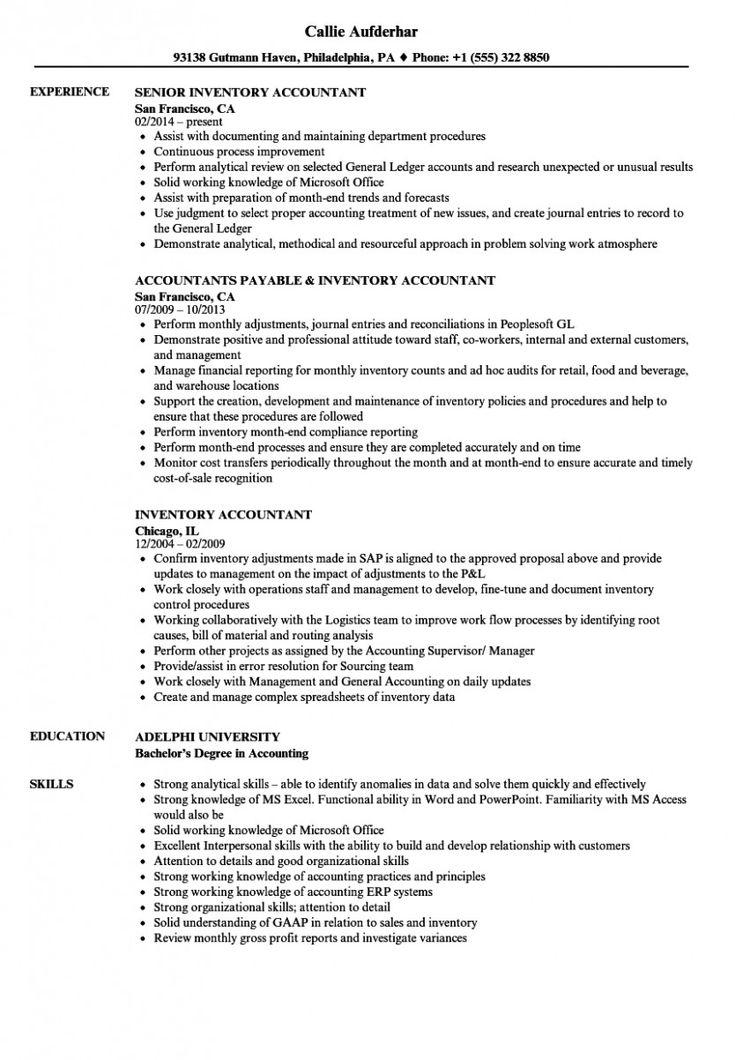 15 accounts primary resume