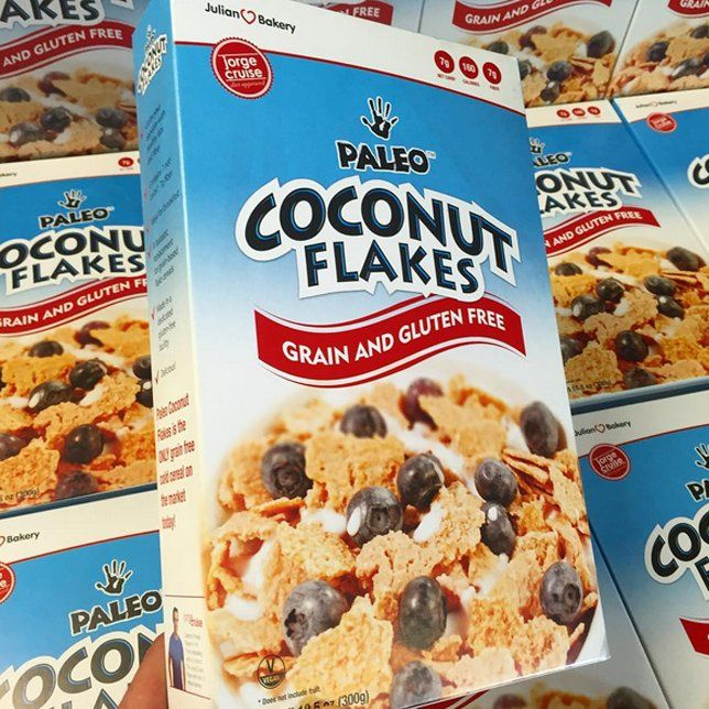 Product Review of Julian Bakery Paleo friendly Coconut Flakes Cereal