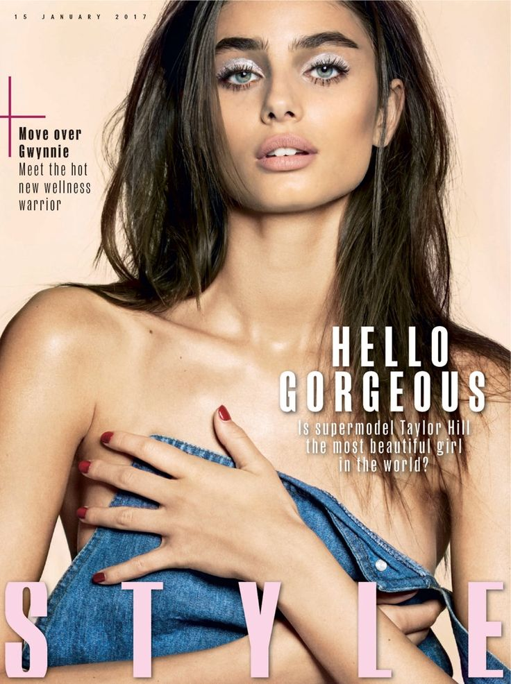 sombra metálica • make metalizado    Taylor Hill on Sunday Times Style January 15, 2017 Cover