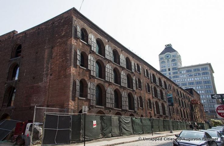 Look inside the construction site at Empire Stores, a former coffee warehouse that will become a creative hub in Dumbo, Brooklyn under S9 Architecture