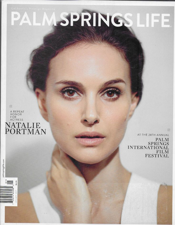 Palm Springs Life magazine Natalie Portman International ...