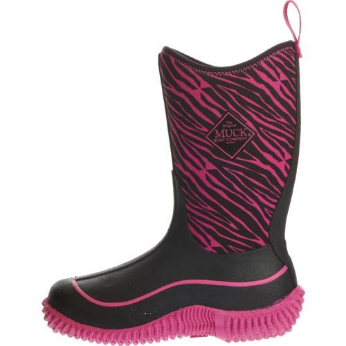 Muck Boot Girls' Hale Outdoor Sport Boots (Pink Bright/Black, Size ...