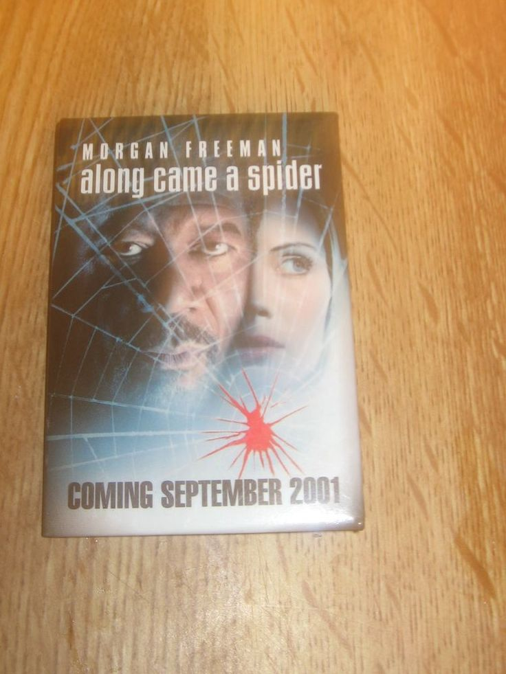 Along Came a Spider Movie Promotional Pin Morgan Freeman