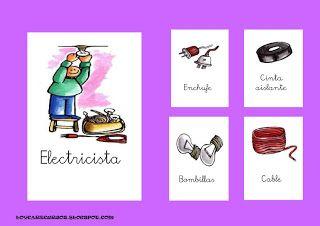 RECURSOS DE EDUCACION INFANTIL: OFICIOS