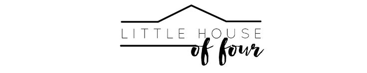 Little House of Four - Creating a beautiful home, one thrifty project at a time.