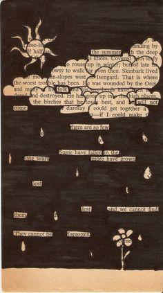blackout poetry instructions - Recherche Google