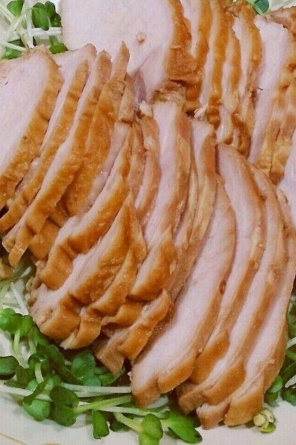 ◆柔らか鶏胸ハム◆ お正月、初節句…うちのお祝い事に必ず登場!! 親戚からも好評な鶏ハムです(*^^*)