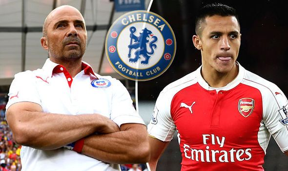 Jorge Sampaoli is learning English wants to sign Arsenals Alexis Sanchez at Chelsea [Express]